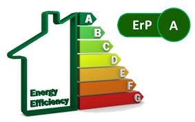 ERP energy efficiency rating