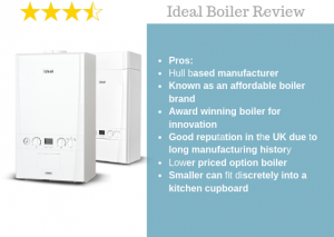 ideal vogue combi boiler review